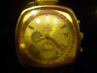 Reloj Omega omega seamaster professional oro 14k